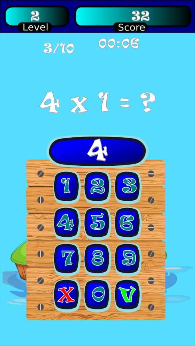 Times Tables Math Trainer SD screenshot 5