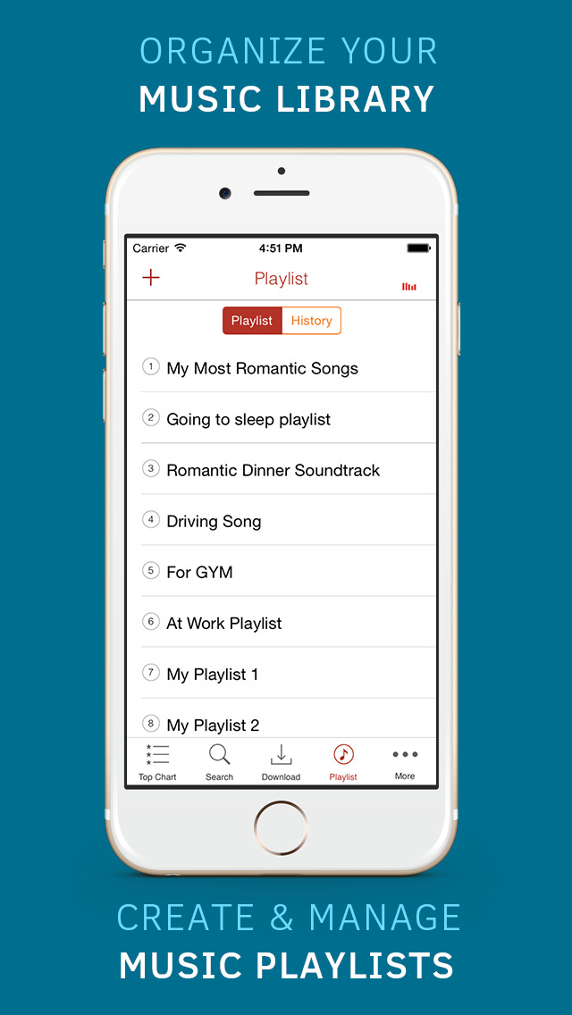 Free music download manager for Soundcloud and player for YouTube