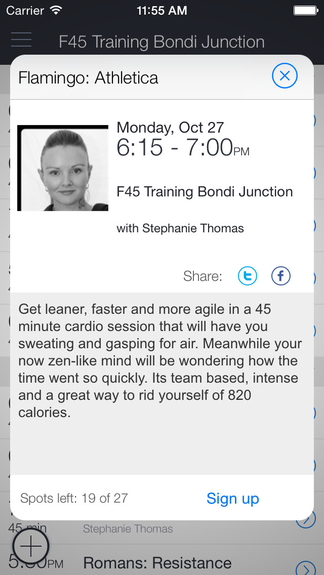 F45 Bondi Junction screenshot 2