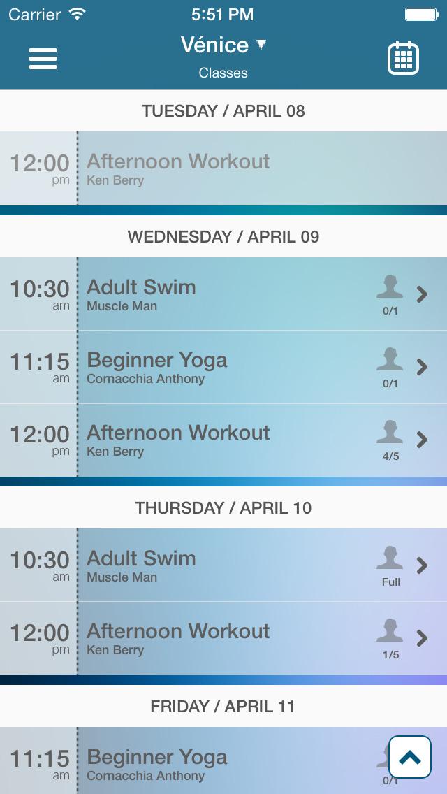 The Studio Fitness Centers screenshot #2
