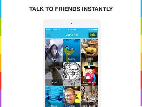 Marco Polo Push-to-Talk Video Chat (Kik Edition) screenshot 6