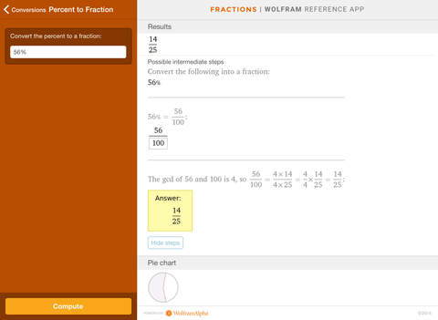 Wolfram Fractions Reference App screenshot 8