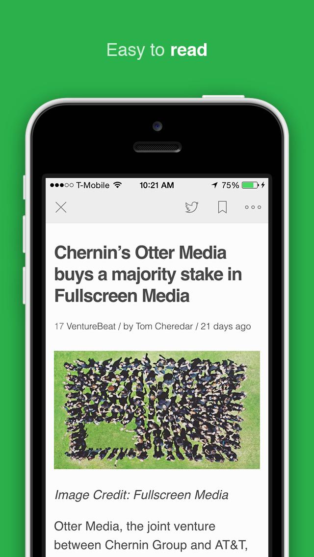 Feedly - Smart News Reader screenshot 3
