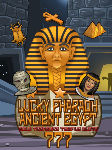 `Lucky Pharaoh Egypt Gold Treasure Temple Casino Slots Free screenshot 9