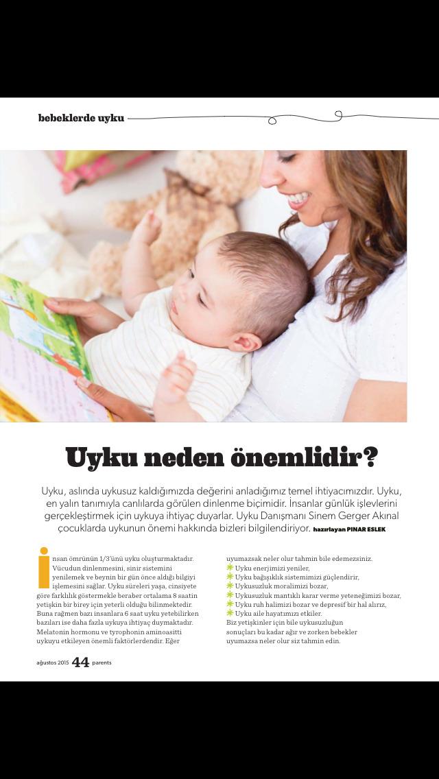 Parents Türkiye screenshot 2