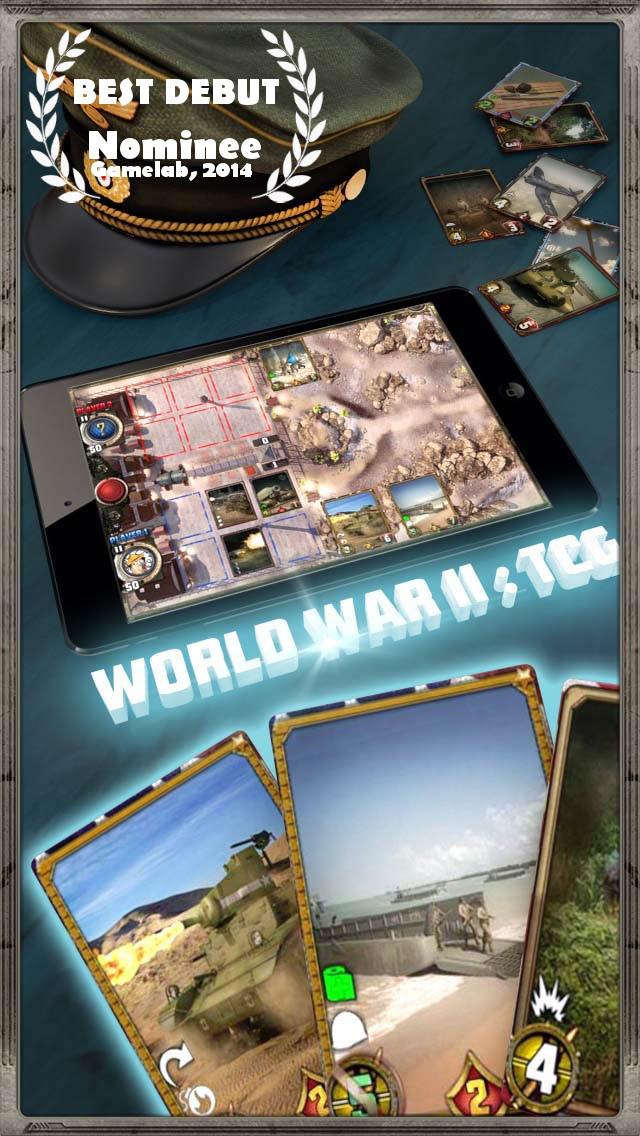 World War II: TCG screenshot 1