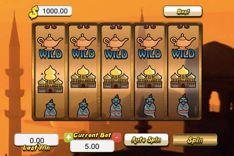 `` Arabian Sunset Slots `` - FREE Bonus Chips - náhled