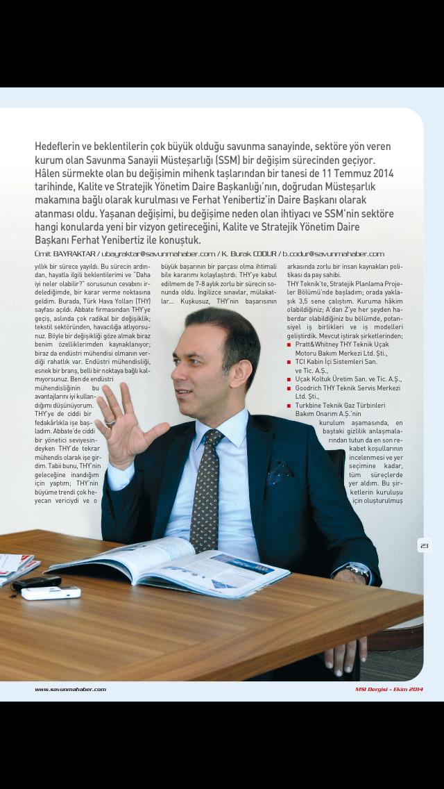 MSI Dergisi screenshot 3