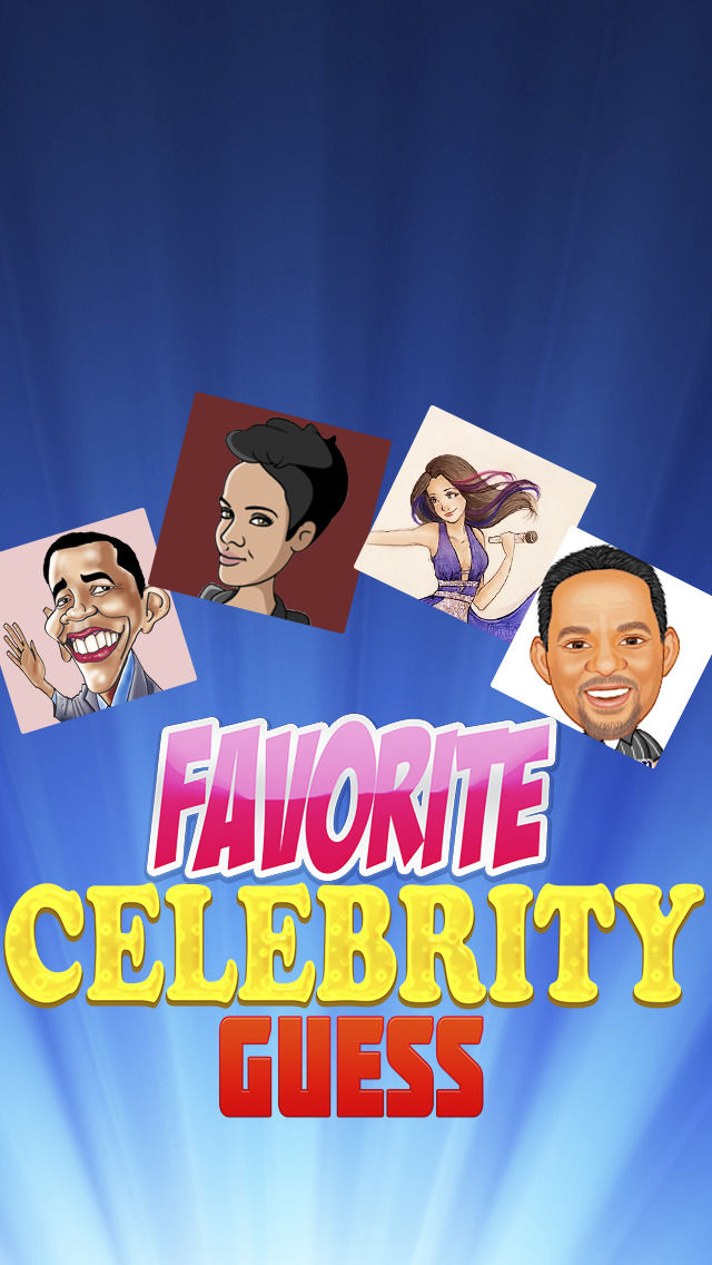 Favorite Celebrity Guess screenshot 1