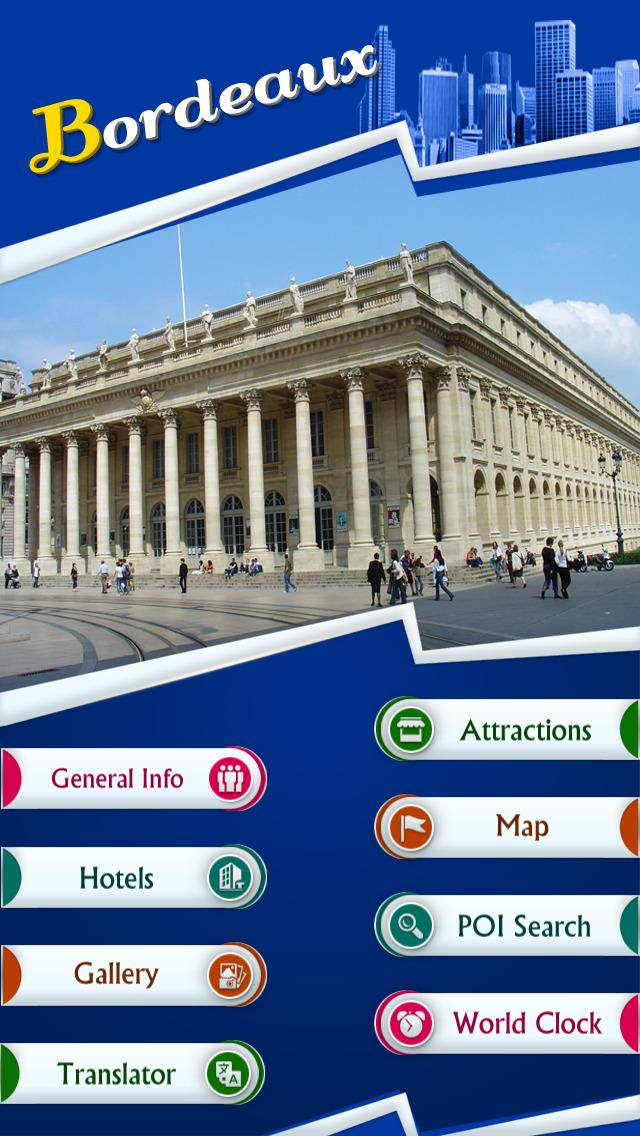 Bordeaux Offline Travel Guide screenshot 2