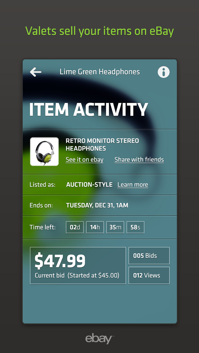 eBay Valet – Sell for Me. Turn Extra Stuff into Cash screenshot 4