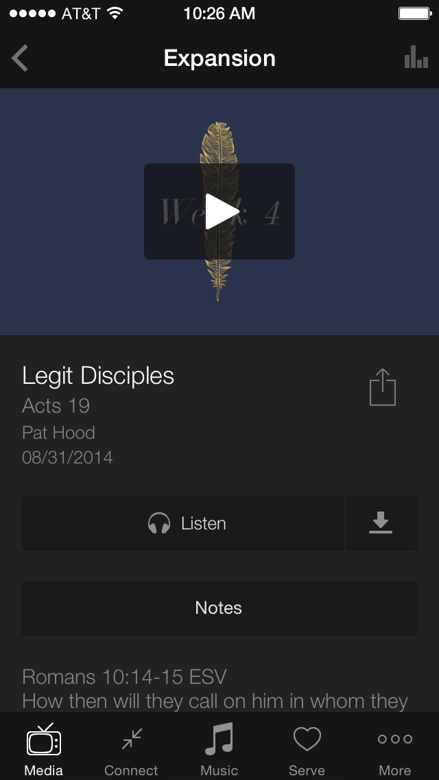 LifePoint Church App screenshot 3
