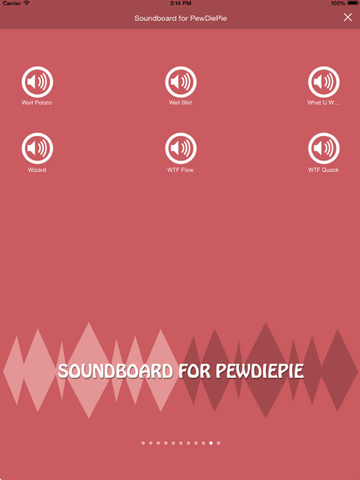 The Best Soundboard for PewDiePie screenshot 4