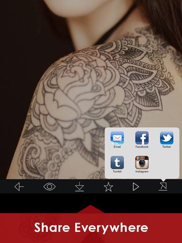 Tattoo Designs Catalog with 100+ body tattoos Idea screenshot 10