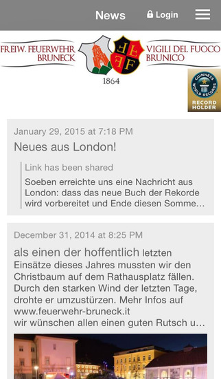 Freiwillige Feuerwehr Bruneck screenshot 1
