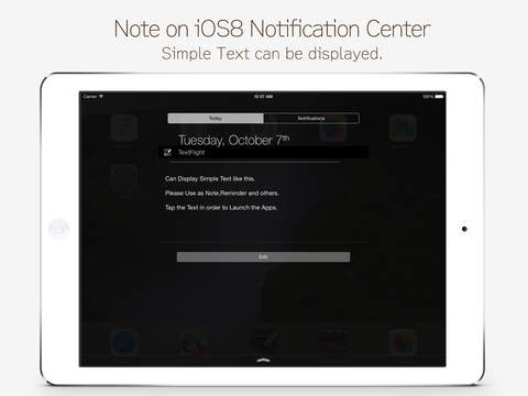 TextNote : Text Widget screenshot #1