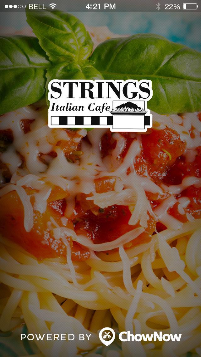 Strings Italian Cafe screenshot 1