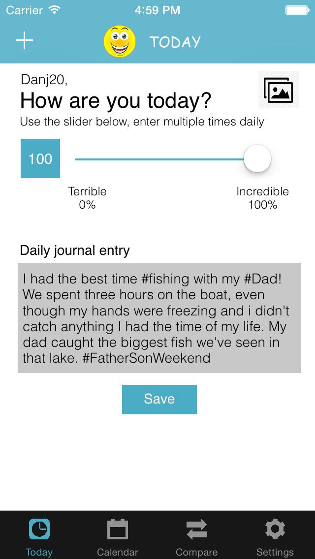 Emojo (Journal / Diary) screenshot 1