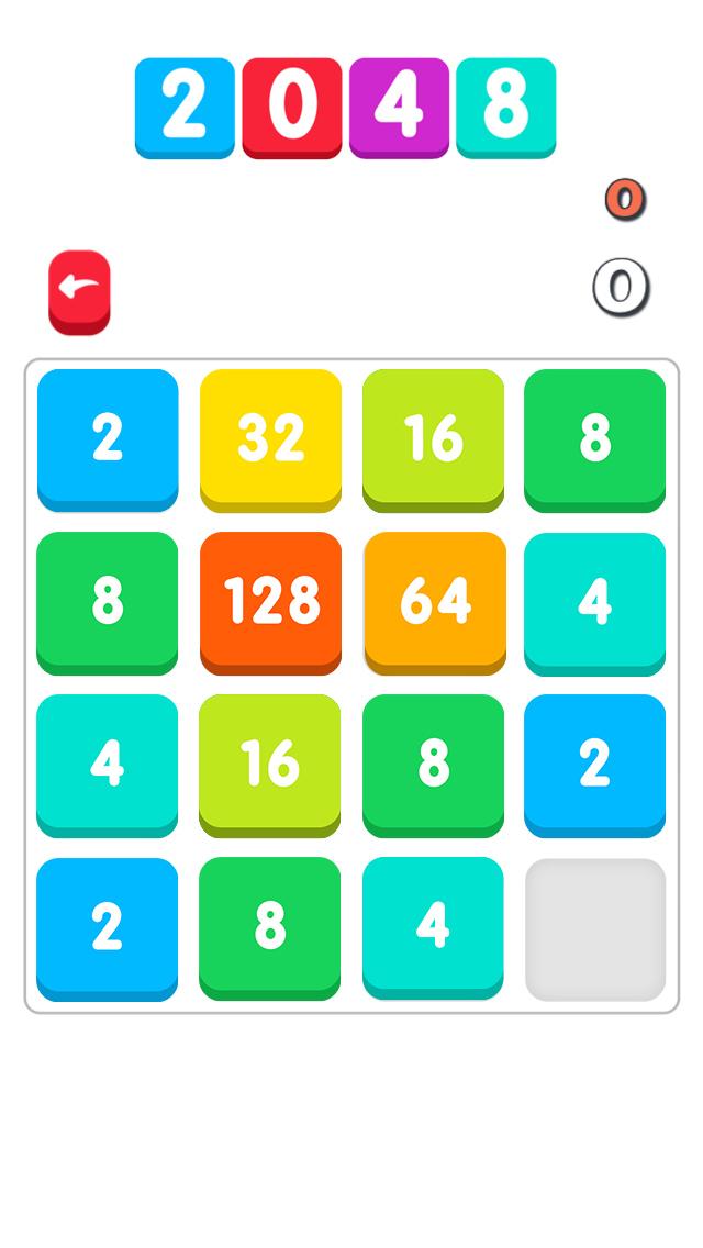 2048 Color Classic screenshot 1