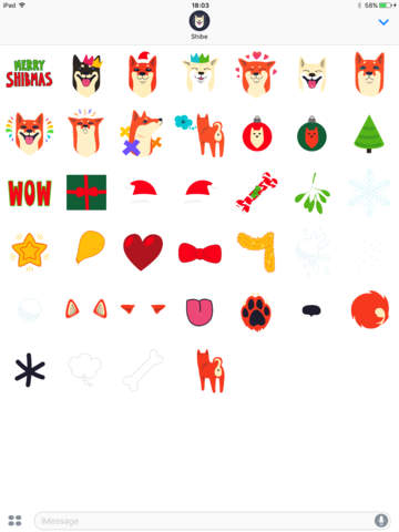 Shibe Stickers by Abi Heyneke - náhled
