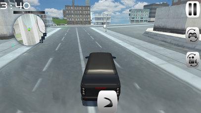 City Fast Prado Racing :Real Land-Cruiser Par-king screenshot 4