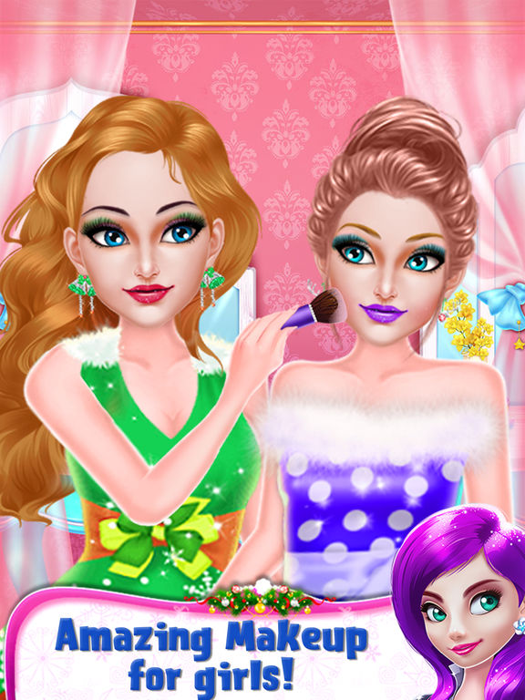 Christmas Girl Party Makeover screenshot 9