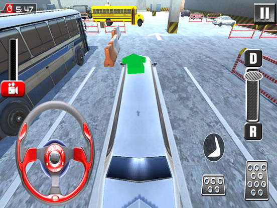 Fancy Limousine Parking : New Car Sim-ulation Game screenshot 8