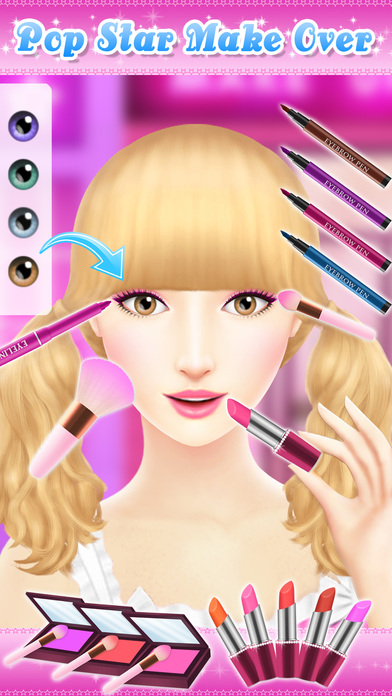 Angelina's Pop Star Salon - Spa & Makeup screenshot 3