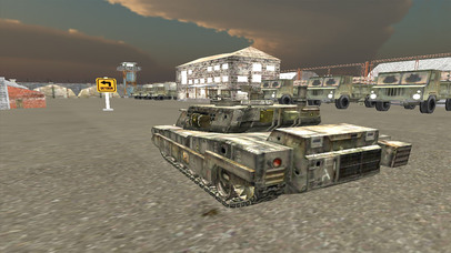 VR Military Tank Parking Driver Army Truck Driving screenshot 3