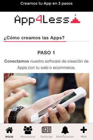 App4less - náhled