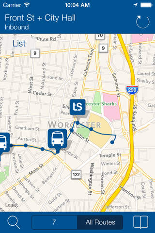 Transit Stop: WRTA Bus Tracker (Free) - náhled