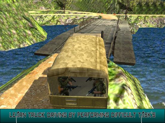 US Army Trucker Park : Gambler Traffic Sim-ulator screenshot 8