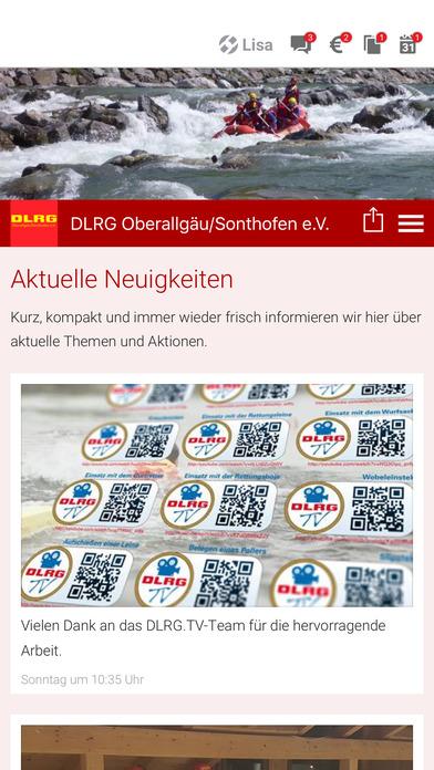 DLRG Oberallgäu / Sonthofen screenshot 1