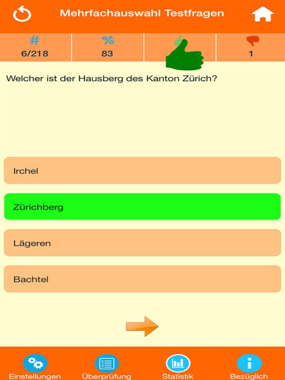 Die Schweiz Quiz screenshot 7