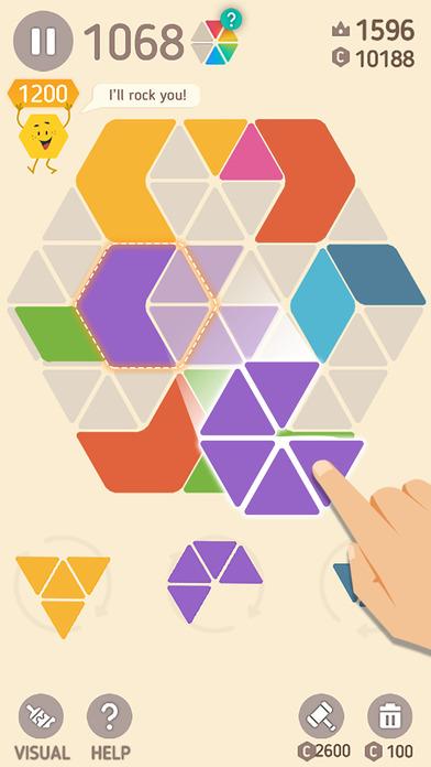 Make Hexa Puzzle screenshot 1
