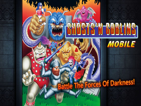 Ghosts'n Goblins MOBILE screenshot #1