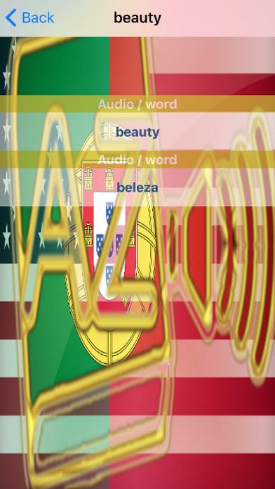 Portuguese Dictionary GoldEdition screenshot 5