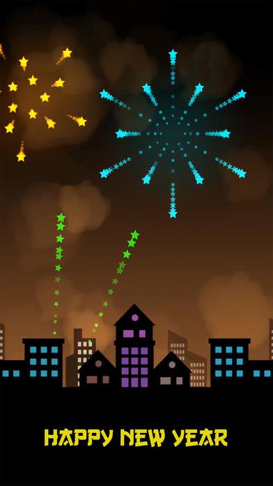Happy Fireworks Game New Year screenshot 1