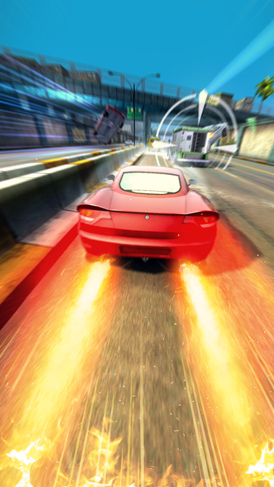 Highway Getaway: Police Chase - Car Racing Game screenshot #1