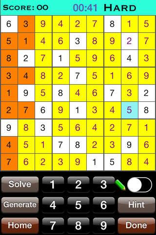 SimplySudoku Free Sudoku Game - náhled