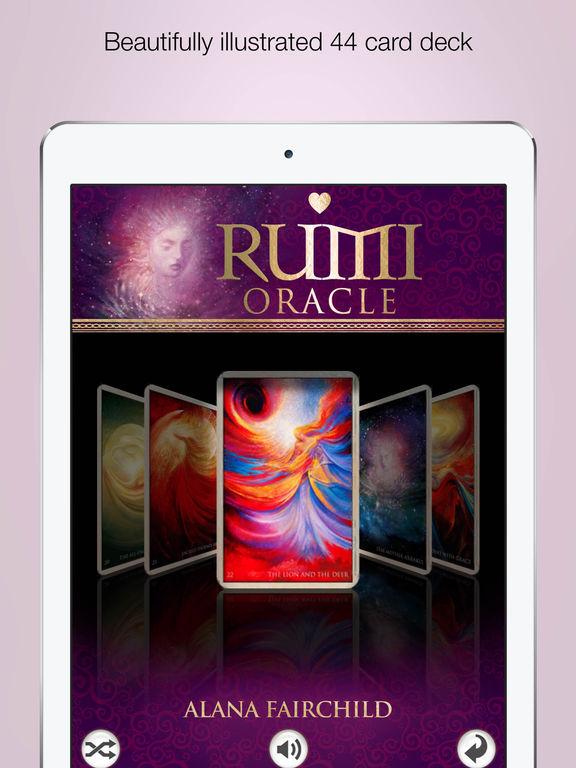 Rumi Oracle - Alana Fairchild screenshot 7