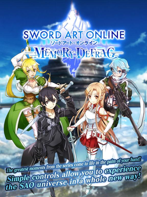 SWORD ART ONLINE:Memory Defrag screenshot 6