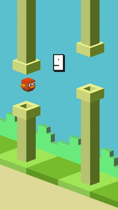 Balloon Bird Game Watch&Phone screenshot 2
