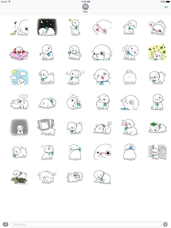 Sweet Puppy Stickers screenshot 4