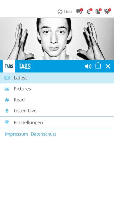 TADS screenshot 2