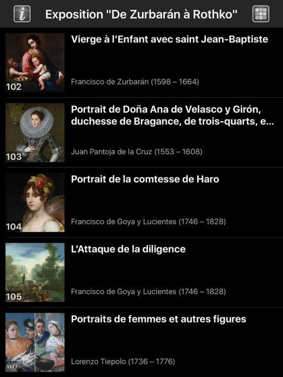 De Zurbarán à Rothko screenshot 7