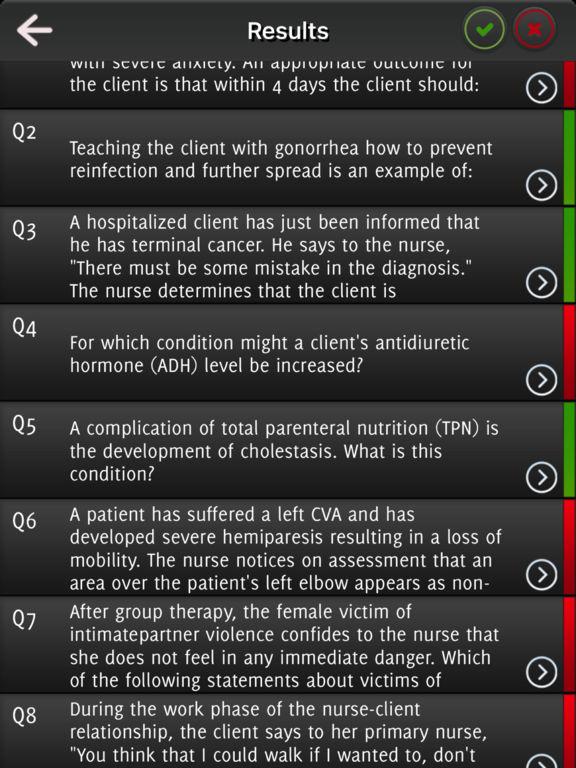 NLCEX-RN Exam Questions screenshot 7