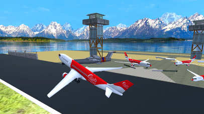 Airspin Aeroplane Adventure : Real Sky flight Sim screenshot 2