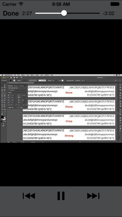 Graphic Typography screenshot 4