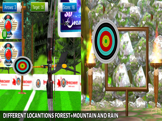 Archery BowMaster Champion : Real Winter Challenge screenshot 8